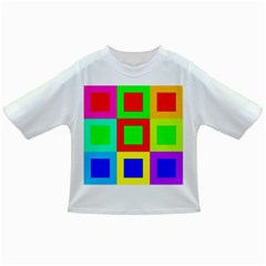 Colors Purple And Yellow Infant/toddler T Shirts