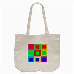 Colors Purple And Yellow Tote Bag (cream)