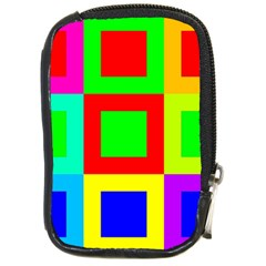 Colors Purple And Yellow Compact Camera Cases