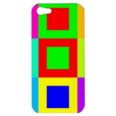 Colors Purple And Yellow Apple Iphone 5 Hardshell Case