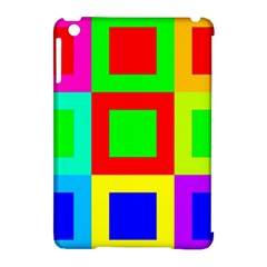 Colors Purple And Yellow Apple Ipad Mini Hardshell Case (compatible With Smart Cover)