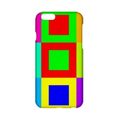 Colors Purple And Yellow Apple Iphone 6/6s Hardshell Case
