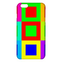 Colors Purple And Yellow iPhone 6 Plus/6S Plus TPU Case