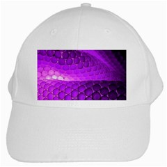 Circular Color White Cap