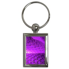 Circular Color Key Chains (Rectangle)