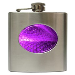 Circular Color Hip Flask (6 Oz)