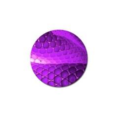 Circular Color Golf Ball Marker
