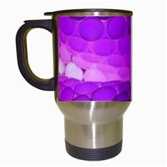 Circular Color Travel Mugs (white)