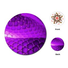 Circular Color Playing Cards (round)