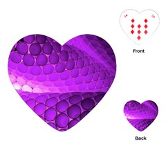 Circular Color Playing Cards (heart)