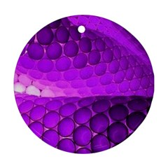 Circular Color Round Ornament (two Sides)