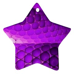 Circular Color Star Ornament (two Sides)