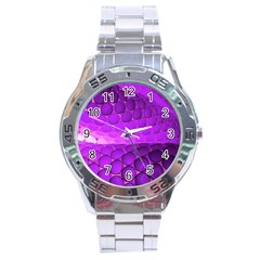Circular Color Stainless Steel Analogue Watch