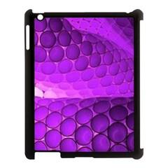 Circular Color Apple Ipad 3/4 Case (black)