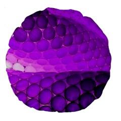 Circular Color Large 18  Premium Round Cushions