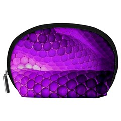 Circular Color Accessory Pouches (large)