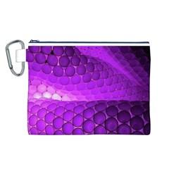 Circular Color Canvas Cosmetic Bag (l)