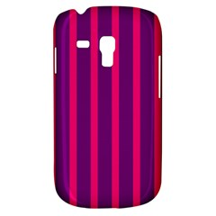 Deep Pink And Black Vertical Lines Galaxy S3 Mini