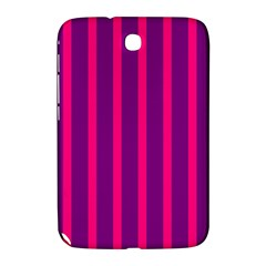 Deep Pink And Black Vertical Lines Samsung Galaxy Note 8 0 N5100 Hardshell Case
