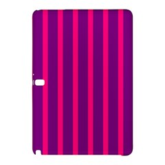 Deep Pink And Black Vertical Lines Samsung Galaxy Tab Pro 10 1 Hardshell Case