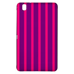 Deep Pink And Black Vertical Lines Samsung Galaxy Tab Pro 8.4 Hardshell Case