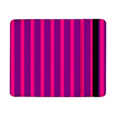 Deep Pink And Black Vertical Lines Samsung Galaxy Tab Pro 8 4  Flip Case
