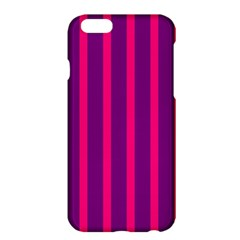 Deep Pink And Black Vertical Lines Apple Iphone 6 Plus/6s Plus Hardshell Case