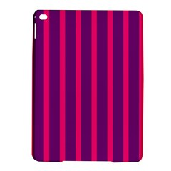 Deep Pink And Black Vertical Lines Ipad Air 2 Hardshell Cases