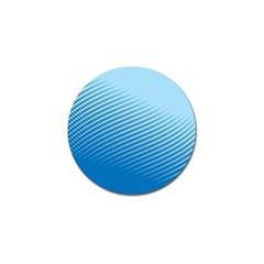 Blue Dot Pattern Golf Ball Marker