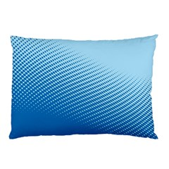 Blue Dot Pattern Pillow Case