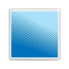 Blue Dot Pattern Memory Card Reader (Square)