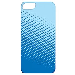 Blue Dot Pattern Apple Iphone 5 Classic Hardshell Case