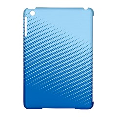 Blue Dot Pattern Apple Ipad Mini Hardshell Case (compatible With Smart Cover)
