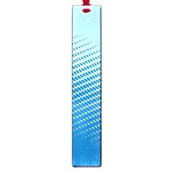 Blue Dot Pattern Large Book Marks