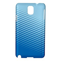Blue Dot Pattern Samsung Galaxy Note 3 N9005 Hardshell Case