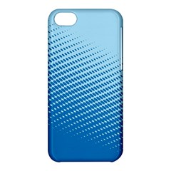 Blue Dot Pattern Apple Iphone 5c Hardshell Case