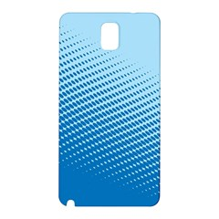 Blue Dot Pattern Samsung Galaxy Note 3 N9005 Hardshell Back Case