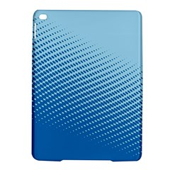 Blue Dot Pattern Ipad Air 2 Hardshell Cases
