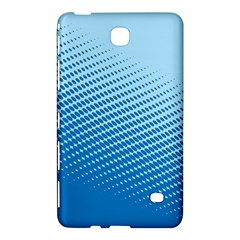 Blue Dot Pattern Samsung Galaxy Tab 4 (8 ) Hardshell Case