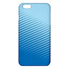 Blue Dot Pattern Iphone 6 Plus/6s Plus Tpu Case