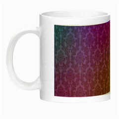 Blue And Pink Colors On A Pattern Night Luminous Mugs