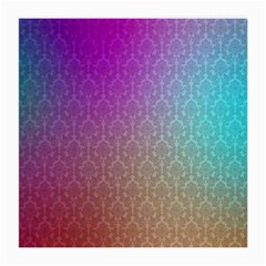 Blue And Pink Colors On A Pattern Medium Glasses Cloth (2 Side)