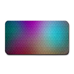 Blue And Pink Colors On A Pattern Medium Bar Mats