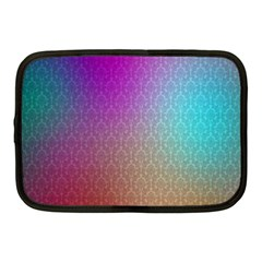 Blue And Pink Colors On A Pattern Netbook Case (medium)