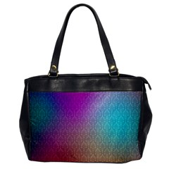 Blue And Pink Colors On A Pattern Office Handbags