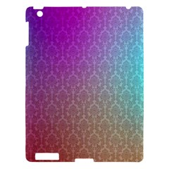 Blue And Pink Colors On A Pattern Apple Ipad 3/4 Hardshell Case