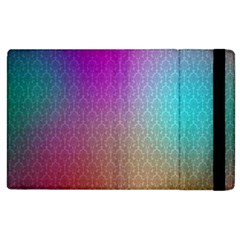 Blue And Pink Colors On A Pattern Apple Ipad 3/4 Flip Case