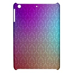 Blue And Pink Colors On A Pattern Apple Ipad Mini Hardshell Case