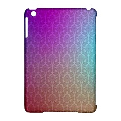 Blue And Pink Colors On A Pattern Apple Ipad Mini Hardshell Case (compatible With Smart Cover)