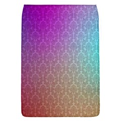 Blue And Pink Colors On A Pattern Flap Covers (s)